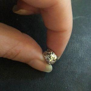 PANDORA Silver Daisy Flowers Clip